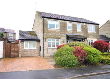 Thumbnail 3 bedroom semi-detached house for sale in Brookfield Crescent, Hampsthwaite, Harrogate