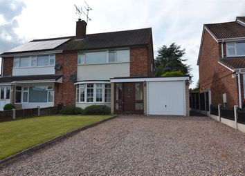 Thumbnail 3 bed semi-detached house for sale in Sherwood Avenue, Stafford