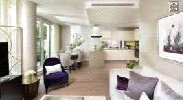 Thumbnail 2 bed flat for sale in Vista Building, Battersea