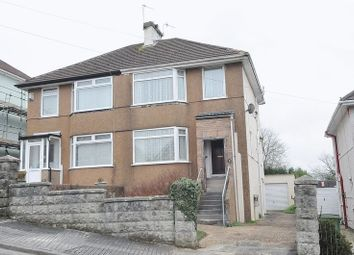 Thumbnail 3 bedroom semi-detached house for sale in Dunstone Road, Higher St. Budeaux, Plymouth