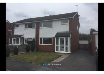 Thumbnail 3 bed semi-detached house to rent in Barrow Meadow, Cheadle Hulme, Cheadle