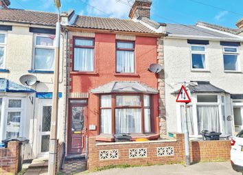 Thumbnail 3 bed terraced house to rent in Grafton Road, Harwich