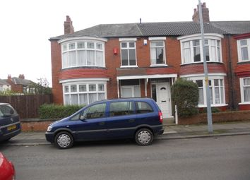 Thumbnail 3 bedroom end terrace house to rent in Hambledon Road, Middlesbrough