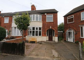 Thumbnail 3 bedroom semi-detached house for sale in Exmoor Avenue, Leicester, Leicestershire