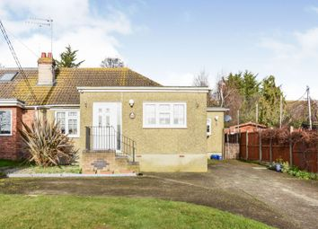 Thumbnail 3 bed semi-detached bungalow for sale in King Edwards Road, Chelmsford