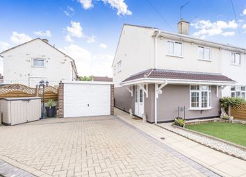 Thumbnail 3 bed semi-detached house for sale in Croyland Green, Thurnby Lodge, Leicester