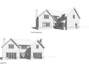 Thumbnail 4 bed detached house for sale in Hill View, Newport Pagnell