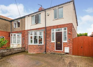 Thumbnail 3 bed semi-detached house for sale in West Cliff Avenue, Whitby, North Yorkshire