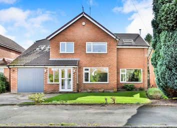 Thumbnail 5 bedroom detached house for sale in Arlington Crescent, Wilmslow