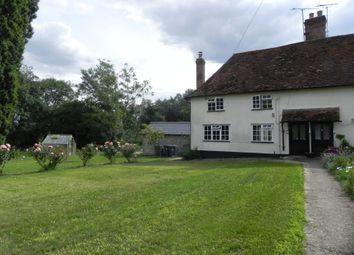 Thumbnail 2 bed semi-detached house to rent in Radwinter Road, Ashdon, Saffron Walden