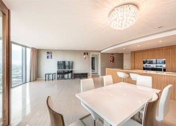 Thumbnail 3 bed flat to rent in The Tower, St George Wharf, Vauxhall, London
