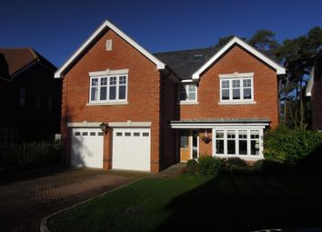 Thumbnail 5 bed detached house to rent in Chapel Pines, Camberley, Surrey