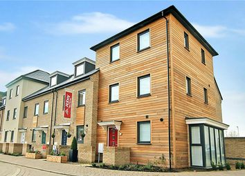 Thumbnail 3 bedroom end terrace house for sale in Foxglove Way, Cambridge
