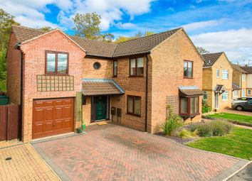 Thumbnail 4 bed detached house for sale in Larkwood Close, Kettering