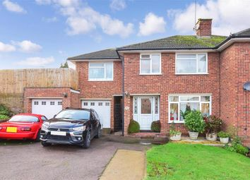 Thumbnail 4 bed semi-detached house for sale in Grasmere Grove, Frindsbury, Rochester, Kent