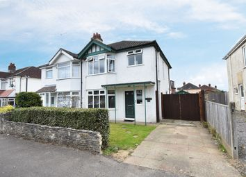 Thumbnail 3 bed semi-detached house for sale in Claremont Crescent, Southampton