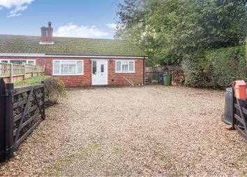 Thumbnail 3 bed semi-detached bungalow for sale in Chapel Road, Terrington St Clement, King's Lynn