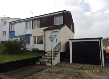 Thumbnail 3 bedroom semi-detached house to rent in Moreton Park Road, Bideford