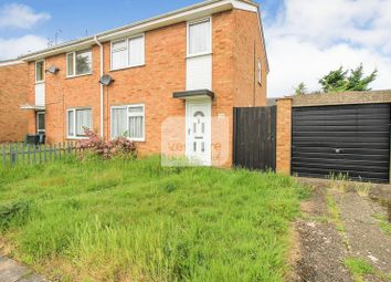 Thumbnail 3 bed end terrace house to rent in Bembridge Gardens, Luton