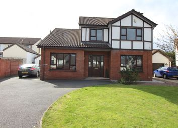 Thumbnail 4 bedroom detached house for sale in Tudor Road, Carrickfergus