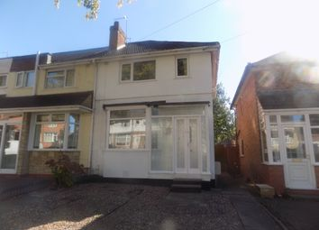 Thumbnail 3 bed end terrace house for sale in Birkenshaw Road, Great Barr, Birmingham