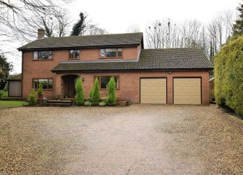 Thumbnail 4 bed detached house for sale in Clipsham Road, Stretton, Rutland
