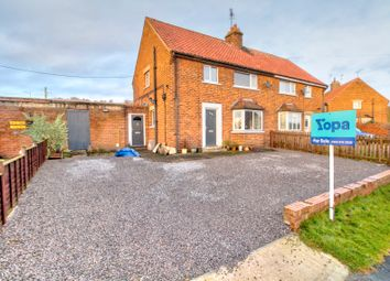 Thumbnail 3 bed semi-detached house for sale in Valley View, Ampleforth, York