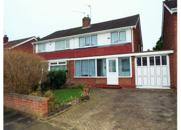 Thumbnail 3 bed semi-detached house for sale in Ashburton Road, Birmingham