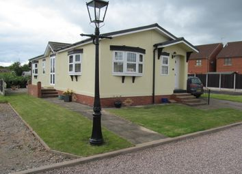 Thumbnail 2 bed mobile/park home for sale in Castle Grange Park, Doxley Road (Ref 5582), Doxley, Staffordshire