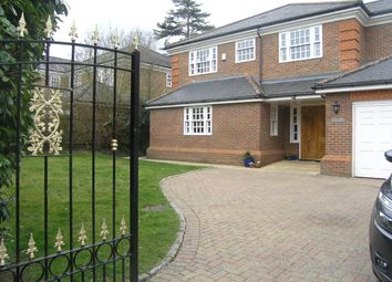 Thumbnail 5 bed detached house for sale in Ellesmere Road, Weybridge