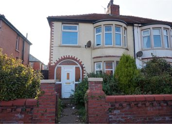 Thumbnail 3 bedroom semi-detached house for sale in Langfield Avenue, Blackpool