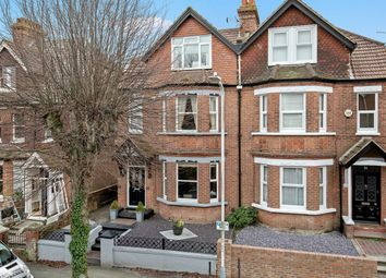 Thumbnail 4 bed semi-detached house for sale in Limes Road, Folkestone
