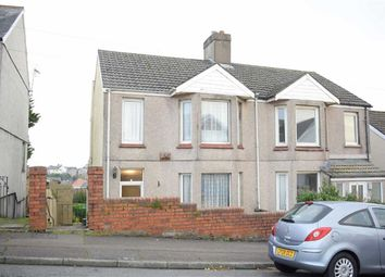 Thumbnail 3 bed semi-detached house for sale in Lon Mafon, Sketty, Swansea