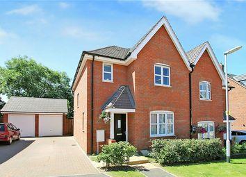 Thumbnail 3 bedroom semi-detached house for sale in Bushfield Court, New Cardington, Bedfordshire
