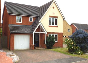 Thumbnail 4 bed detached house to rent in Briarwood Way, Wollaston, Northamptonshire