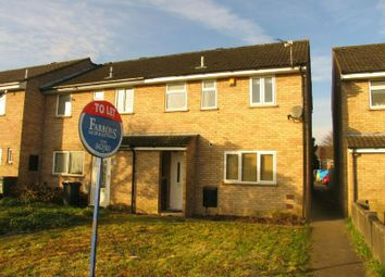 Thumbnail 3 bed end terrace house to rent in Courtenay Walk, Worle, Weston-Super-Mare