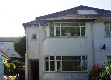 Thumbnail 3 bed semi-detached house to rent in Dracaena Avenue, Falmouth