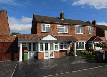 Thumbnail 3 bed semi-detached house to rent in Springhill Road, Wednesfield, Wolverhampton