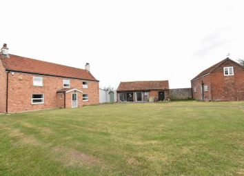 Thumbnail 4 bed equestrian property for sale in Main Road, Saltfleetby, Louth