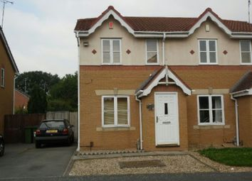 Thumbnail 2 bed semi-detached house to rent in Haskell Close, Thorpe Astley, Braunstone, Leicester