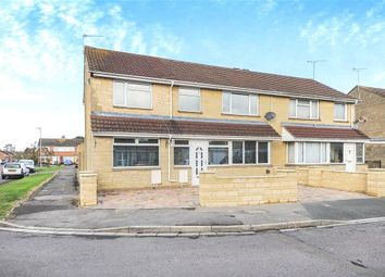 Thumbnail 5 bed semi-detached house for sale in Pentridge Close, Swindon