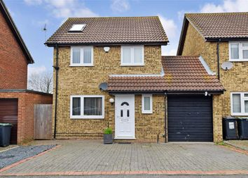 Thumbnail 4 bed link-detached house for sale in Stevens Road, Eccles, Aylesford, Kent