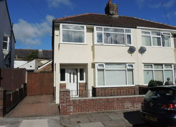 Thumbnail 3 bed semi-detached house for sale in Darley Drive, West Derby, Liverpool