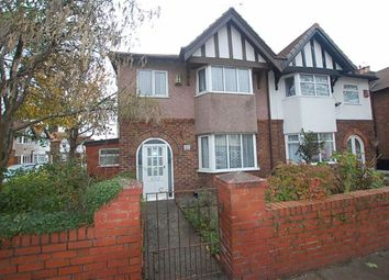 Thumbnail 3 bedroom semi-detached house for sale in Brooke Road East, Waterloo, Liverpool