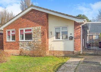 Thumbnail 3 bedroom detached bungalow for sale in Cavendish Close, Lowestoft