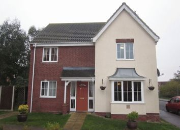 Thumbnail 4 bed detached house to rent in Jenkins Green, Lowestoft