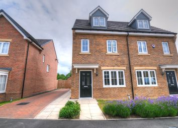 Thumbnail 3 bed semi-detached house for sale in Brandling Way, Hadston, Morpeth
