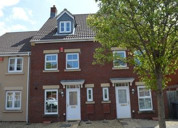 Thumbnail 3 bed town house for sale in Worle Moor Road, Weston Village, Weston-Super-Mare