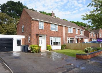 3 bed semi-detached house for sale in Castle Avenue, Highcliffe, Christchurch BH23