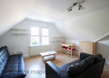 Thumbnail 1 bed flat to rent in Walm Lane, Willesden